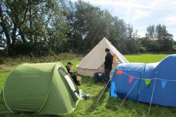 Camping avec les enfants